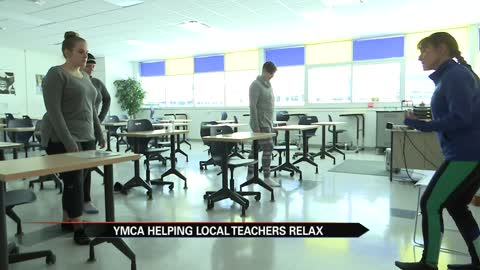 Niles teachers unwind with the YMCA